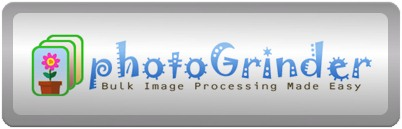 PhotoGrinder - Bulk image processing made easy